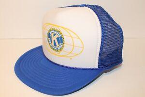 Vintage-1980s-Kiwanis-International-Club-Mesh-Trucker-Hat-Cap-SnapBack
