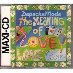 MAXI CD DEPECHE MODE The meaning of love 3-track RARE - France - État : Trs bon état: Objet ayant déj servi, mais qui est toujours en trs bon état. Le botier ou la pochette ne présente aucun dommage, aucune éraflure, aucune rayure, aucune fissure ni aucun trou. Pour les CD, le livret et le texte l'arrire - France