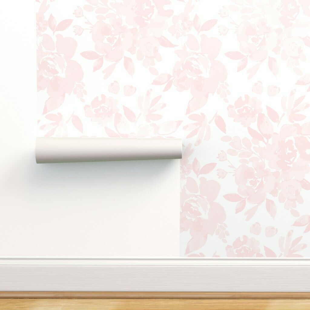 Opalhouse Pink Paisley Peel Stick Removable Wallpaper For Sale