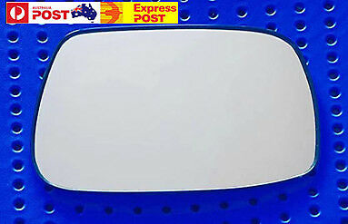 Right side mirror glass to suit TOYOTA Corolla ZZE122R 10//2001-03//2004 Convex