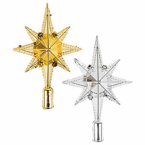 Star of Bethlehem Christmas Tree Topper Decoration Ornament (Gold or ...