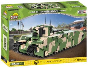 Cobi 2544 (1225pcs) - British TOG II Super Heavy Tank - Building Blocks - WWII
