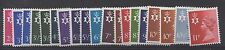 N. Ireland. 1971. Set x 19 Regional Machins. Superb unmounted mint. FREEPOST!