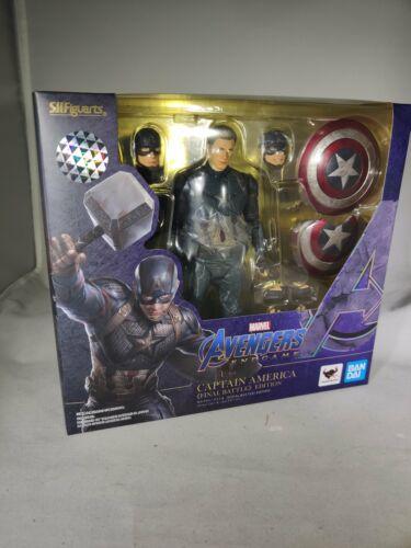 IN STOCK S.H.Figuarts Captain America Avengers Final Battle Edition Endgame