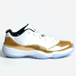 82e2164bf12b Air Jordan 11 Retro Low Closing Ceremony 2016 White Gold Nike 528895 ...