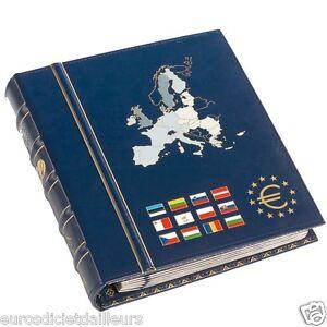 Classeur-Reliure-euro-Classic-pour-series-d-039-euros-LEUCHTTURM-Neuf