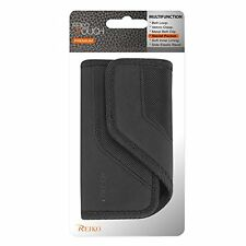 Reiko Horizontal Rugged Pouch Carrying Case for Samsung Galaxy S5 - Retail Packa