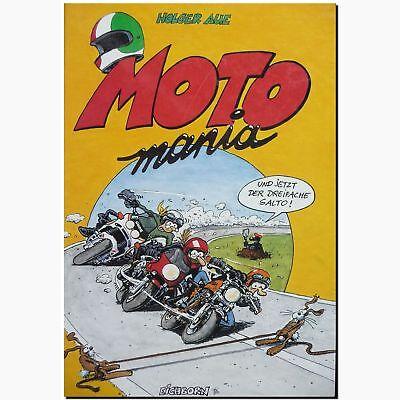 MOTOmania 1 und jetzt der dreifache Salto MOTORRAD COMIC ABENTEUER  Holger Aue