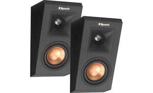 Klipsch-RP-140SA-Premiere-Dolby-Atmos-Elevation-Speakers-BLACK-Pair