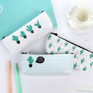 Cute-Cactus-Pencil-Pen-Case-Cosmetic-Makeup-Bag-Storage-Pouch-Purse-Stationery