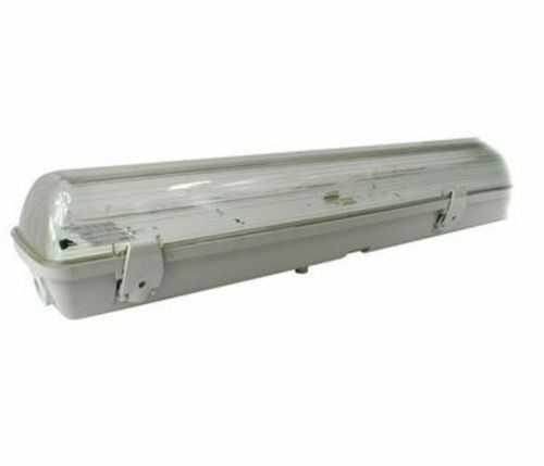 Single Twin Double Weatherproof Waterproof Non Corrosive Fluorescent Tube Light