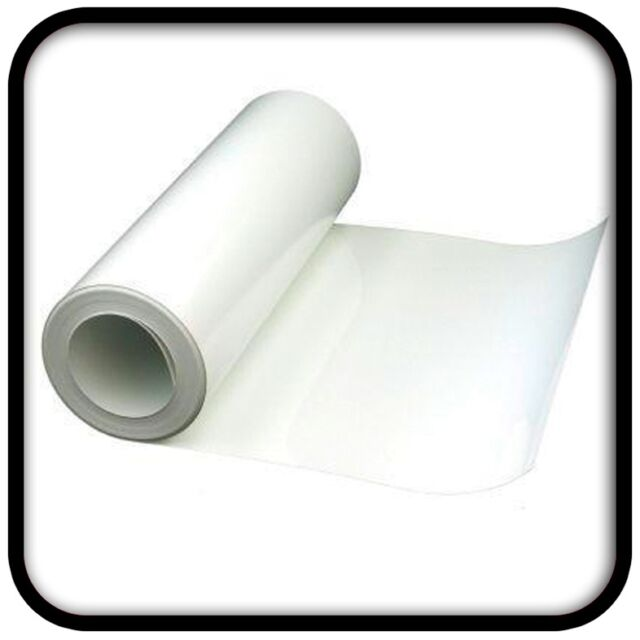 GLOSS WHITE VINYL FABLON 5m x 61cm