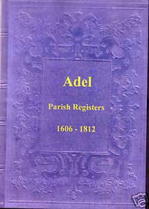 Genealogy-Adel-Parish-Registers-Yorkshire