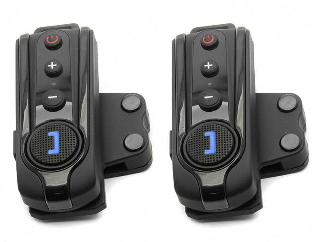 1000m 2pcs BT Interphone Bluetooth Intercom Motorcycle Helmet Headset FM Radio
