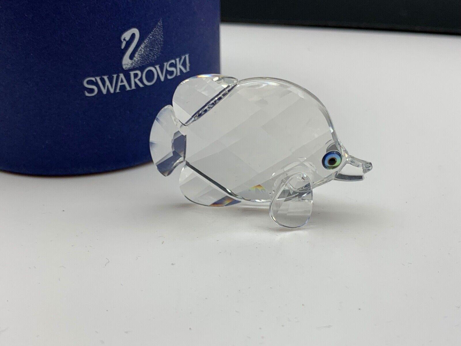 Swarovski Figur 670819 Schmetterlingsfisch 5 cm. Ovp & Zertifikat. Top Zustand