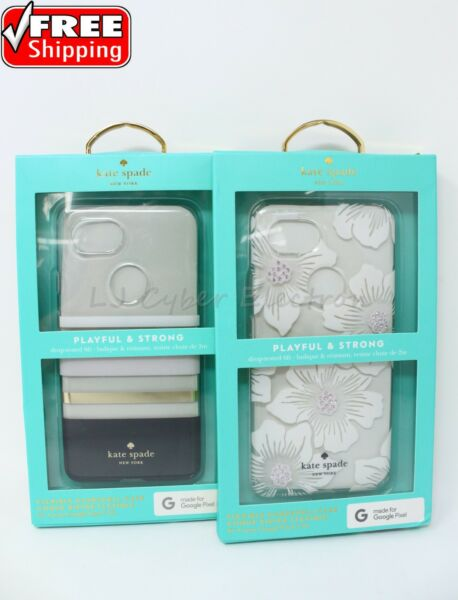 huge discount bf77a cca06 Kate Spade New York Flexible Hardshell Case Google Pixel 2 XL Floral ...