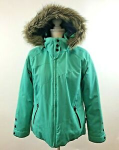 Obermeyer-Women-039-s-Tuscany-Insulated-Ski-Snow-Winter-Jacket-Hooded-Coat-Size-14P