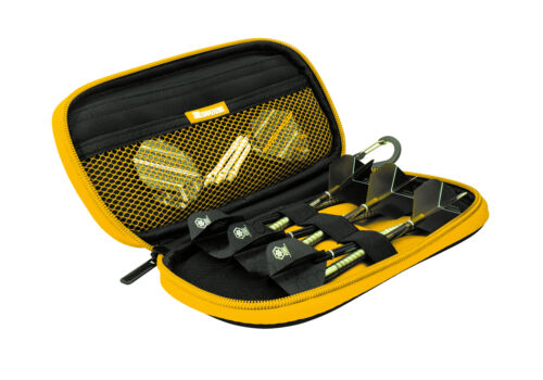 Details about  /Harrows Z 400 Black and Yellow Dart Case