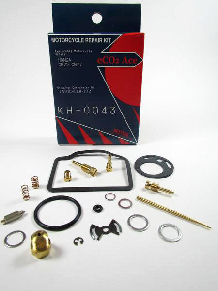 Honda CB72 Carb Repair  Kit