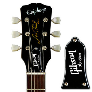 EPIPHONE BWB Gibson Custom Star Truss Rod Cover fits Les