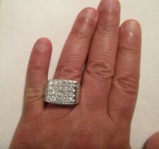 14K Gold Diamond Men's Ring Dia=3.50 Carats F-SI1 18.8 Gr Size 11  Value=$16,750