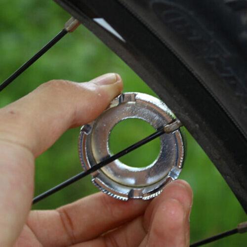 1PC 8 WAY BIKE BICYCLE CYCLE WHEELS SPOKE NIPPLE KEY SPANNER WRENCH REPAIR TOOL