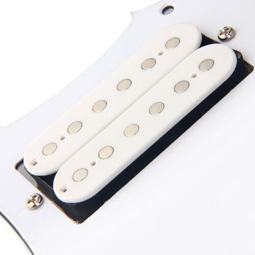 Gitarre geladen HH Humbucker Golpeador für Fender Stratocaster Strat Teile weiß