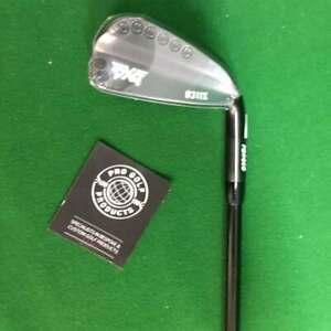 PXG Black 0311X No. 3 Driving Iron - Mitsubushi Chemical MMT 105 TX-Flex Shaft