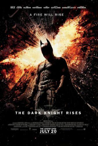 Set of 3 Batman The Dark Knight Trilogy Movie Poster Bundle 11x17 13x19