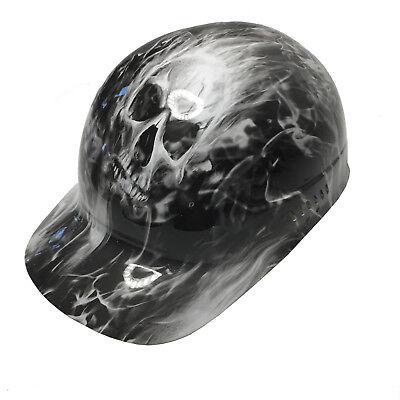 Hydro Dipped Bump Cap Light Grey Insanity Skulls W// Free BRB TShirt
