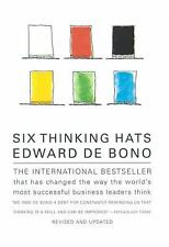 Six Thinking Hats by Edward De Bono (1999, Paperback, Revised)