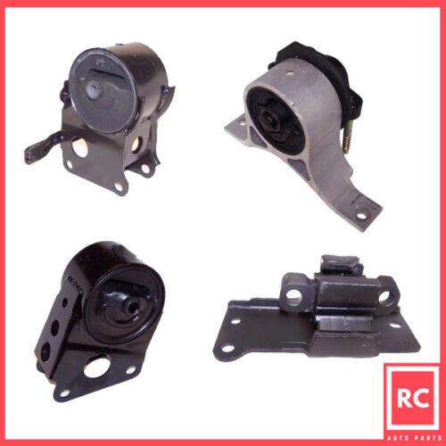 Engine Motor /& Trans Mount Set 4PCS for 03-07 Nissan Murano 3.5L 2WD w//o Sensor