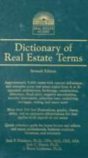 Dictionary of Real Estate Terms (Barron's Business Dictionaries)-ExLibrary
