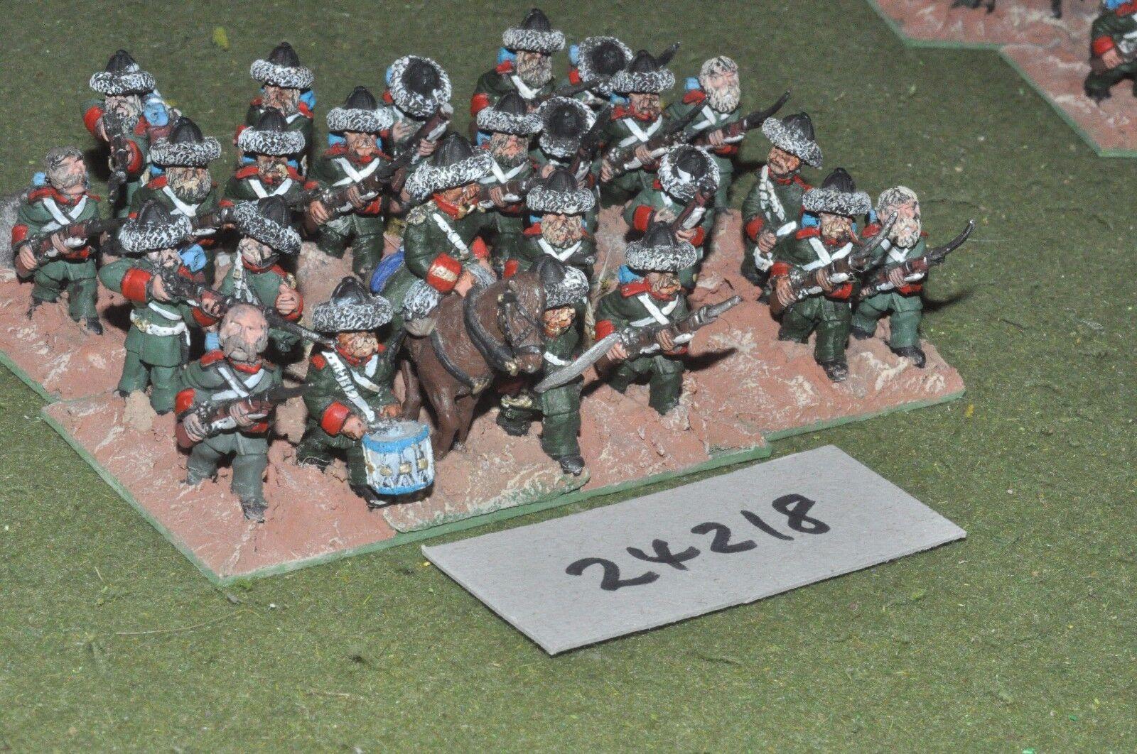 28 mm 19th siècle RUSSIE-CRIMÉE Regiment 24 figures-INF (24218)