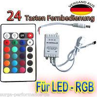 24 44 Key LED RGB Strip Fernbedienung IR Remote Controller Kontroller Steuerung