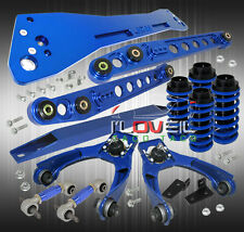 96-00 CIVIC EK9 SUSPENSION SUBFRAME + LCA + BLUE COILOVER SLEEVES + CAMBER KIT