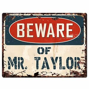 Miraculous Details About Pp1430 Beware Of Mr Taylor Plate Chic Sign Home Store Wall Decor Funny Gift Home Interior And Landscaping Palasignezvosmurscom