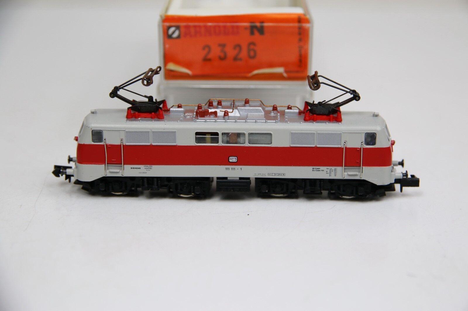 Arnold Spur N 2326 E-Lok BR 111 111-1 delle DB in OVP (rb9524)