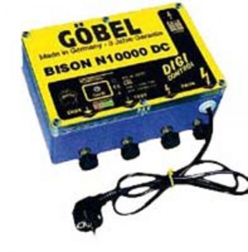 Göbel Weidezaungerät Netzgerät Bison N 10000 DC bis 100km 230V 11180