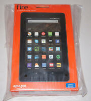 (brand New) Amazon Fire 7 8gb Blue Wi-fi Tablet Bluetooth Dual Cam Latest Model