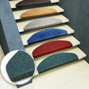 15x-Marchettes-d-039-escalier-5-coloris-25x65cm-tapis-marches-escalier-moquette