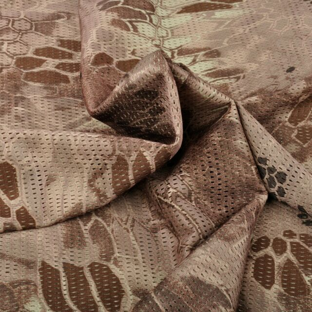 """Nomad Camouflage Camo Net Cover Army Military 60""""W Mesh Fabric Cloth"""