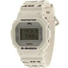 $225 Casio G-Shock x Stussy World Cup Glide Watch (white)