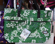 Hawaii Spirit Hawaiian Print Navy EcoBag Shopping Handbag Tote Travel Beach H05