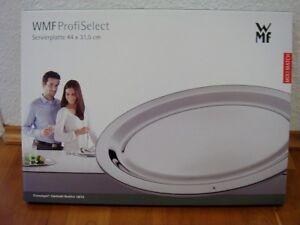 Wmf Profi Select Oval Servierplatte Cromargan Edelstahl 44 X 31,5 Cm Neu Ovp Ausgereifte Technologien Gedeckter Tisch Möbel & Wohnen