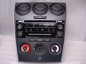 mazda 6 radio 6 disc changer cd player stereo manual climate control rh ebay com