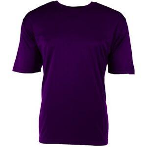 NEW-Dri-Fit-Polyester-Men-039-s-T-Shirt-Purple-Large