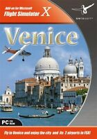 Scenery Venice Add-On for FS 2004/ FSX (PC CD) BRAND NEW SEALED