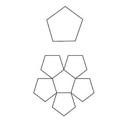 2X  English Paper Piecing Octagon Shape Papers    100//Pack  Total  200 Papers