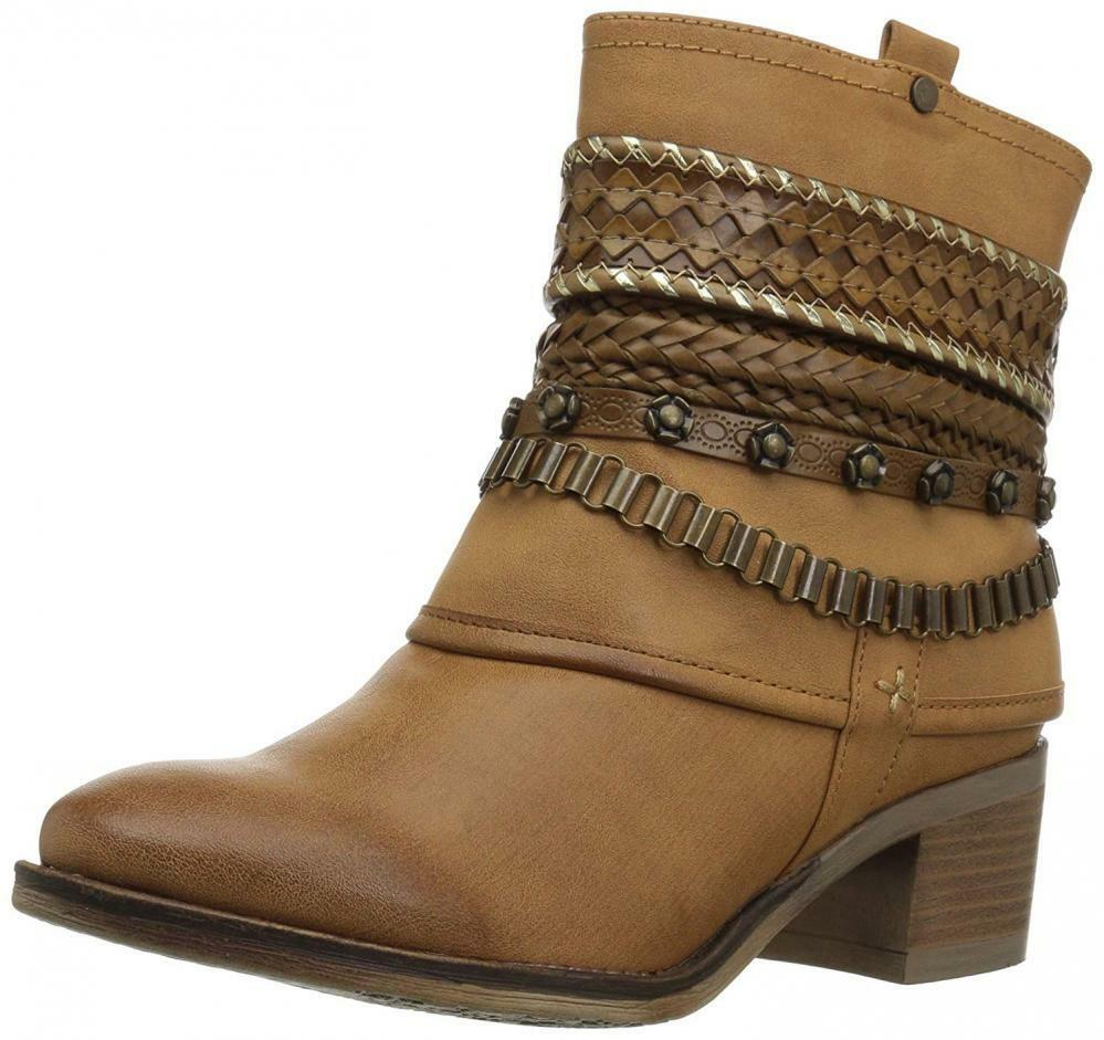 Carlos by Santana Women's Cole Ankle Boot Booties Chunky Bracelet Design Casual